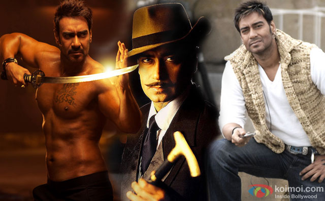 Ajay Devgn in a still from movie Action Jackson, The Legend of Bhagat Singh and London Dreams