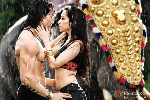 Tiger Shroff and Shraddha Kapoor in a still from movie Baaghi