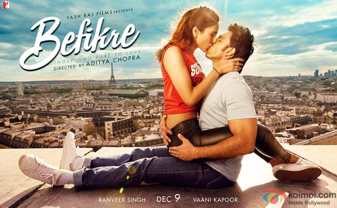 Befikre's Second Poster Is Out| Catch Ranveer-Vaani's Bindaas Romance