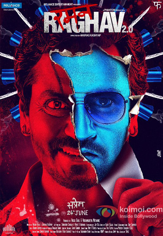 Raman Raghav 2.0 (2016) Movie Download HEVC Mobile 100MB