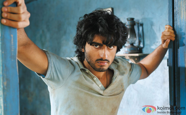Arjun Kapoor in a still from movie 'Aurangzeb'