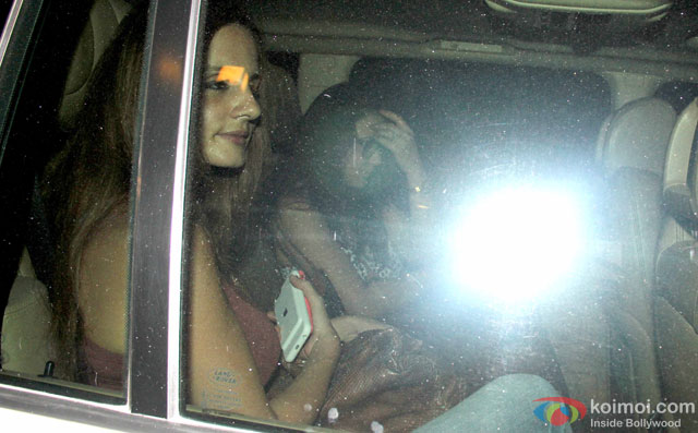 Sussanne Khan and Preity Zinta Spotted At The Korner House