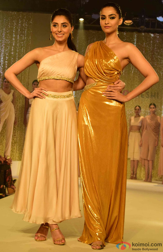 Birthday Girl Sonam Kapoor turns showstopper for Pernia Qureshi's fashion show
