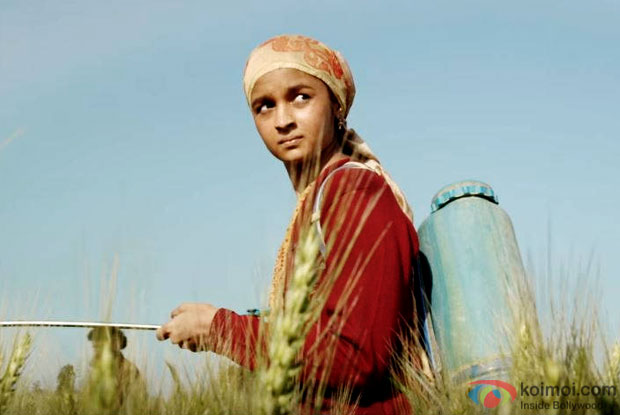 Alia Bhatt in a still from Udta Punjab