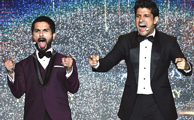 Farhan Akhtar & Shahid Kapoor To Return As 'Raju Aur Pappu' At IIFA Stage