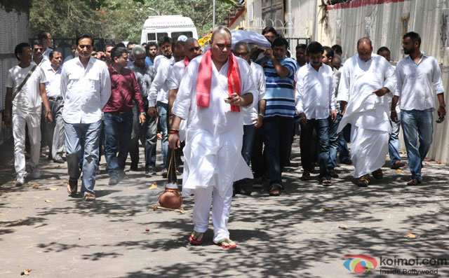 Funeral of Trade Analyst Vikas Mohan