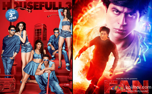 Housefull 3 Surpasses Fan; Becomes 2nd Highest Grosser Of 2016