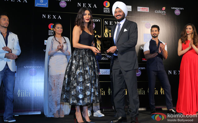 Priyanka Chopra during the 'IIFA 2016 Opening Press Conference'