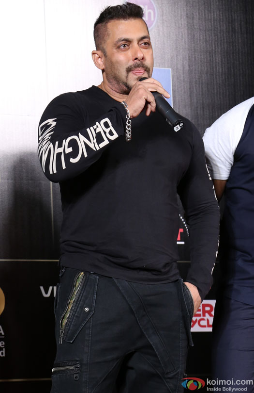Salman Khan during the 'IIFA 2016 Opening Press Conference'