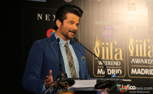 Anil Kapoor during the 'IIFA 2016 Opening Press Conference'