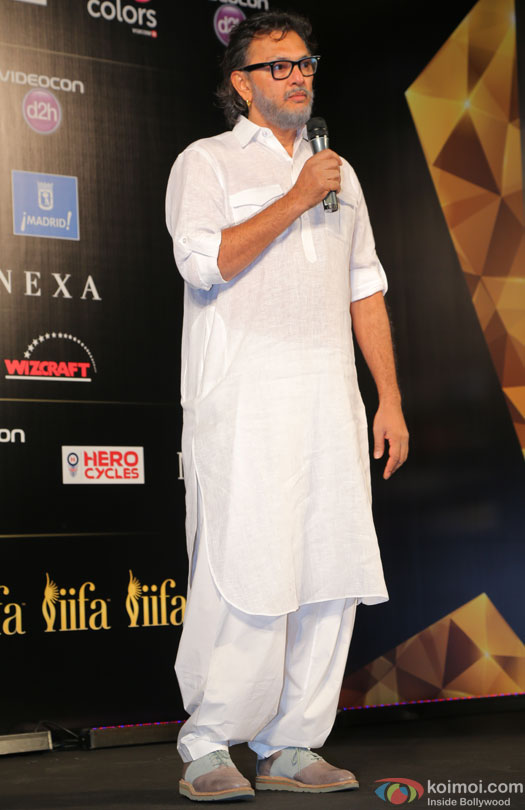 Rakeysh Omprakash Mehra during the 'IIFA 2016 Opening Press Conference'