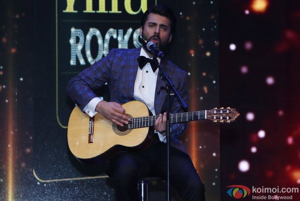 Fawad Khan at IIFA Rocks 2016