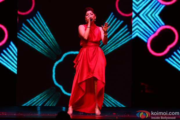 Kanika Kapoor at IIFA Rocks 2016