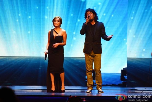 Monali Thakur and Papon at IIFA Rocks 2016