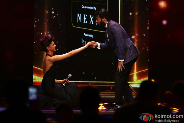 Deepika Padukone and Fawad Khan at IIFA Rocks 2016