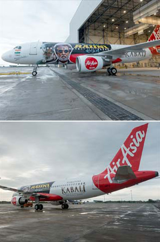 Kabali Special Plane