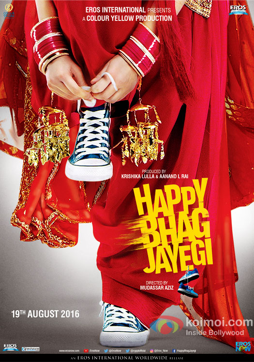 Motion poster of Happy Bhag Jayegi out on Eros Now!
