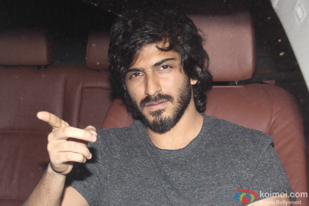 Harshvardhan Kapoor at Karan Johar's House