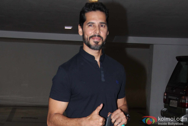 Dino Morea at Karan Johar's House