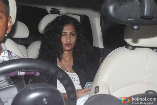 Gauri Shinde at Karan Johar's House