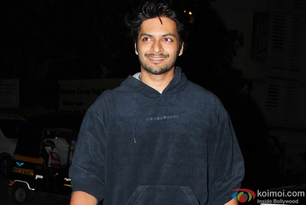 Ali Fazal at Karan Johar's House