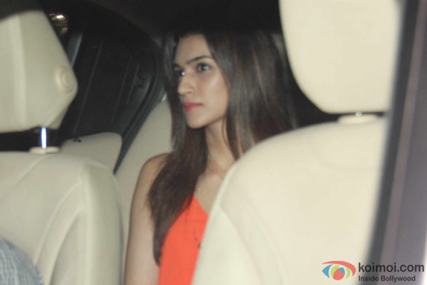 Kriti Sanon at Karan Johar's House
