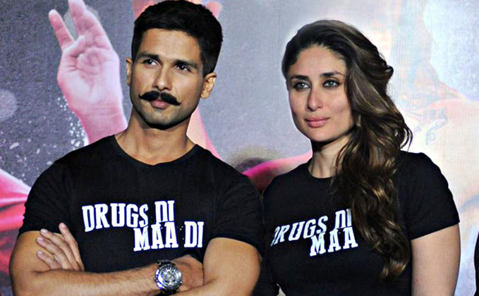 Shahid says no pictures with Kareena was intentional
