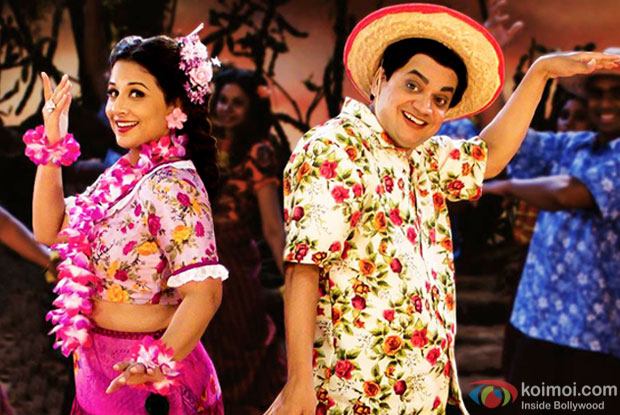 Vidya Balan and Mangesh Desai in a Shola Jo Bhadke song still from Ekk Albela