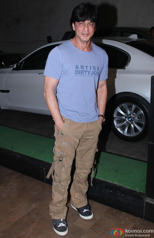 Shah Rukh Khan during the special screening of film 'Udta Punjab'
