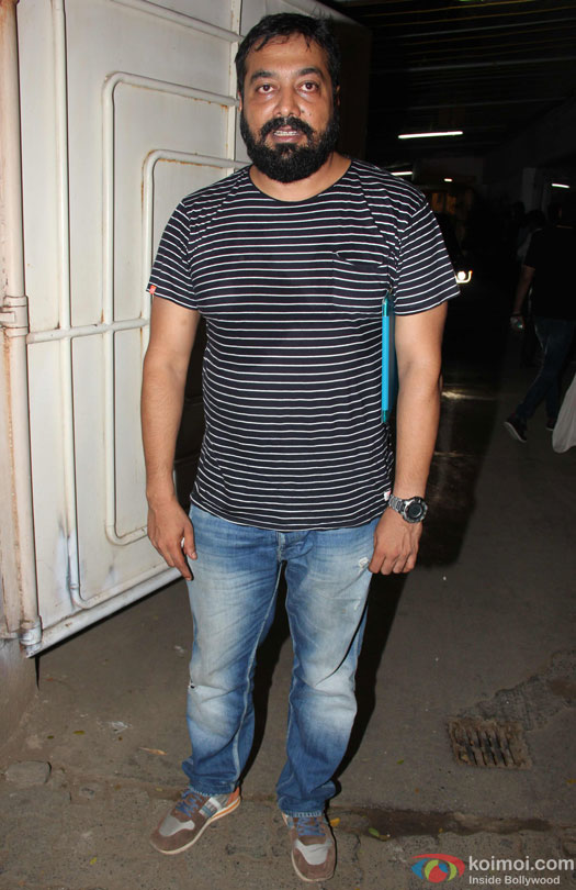 Anurag Kashyap during the special screening of film 'Udta Punjab'