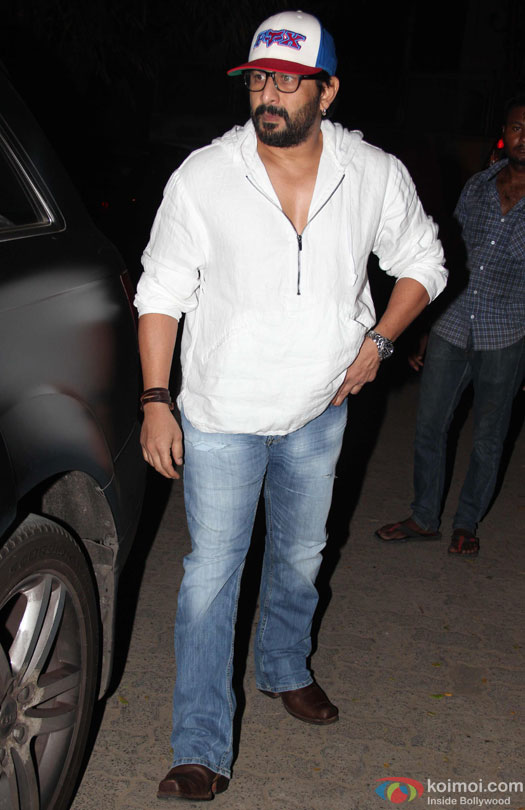 Arshad Warsi during the special screening of film 'Udta Punjab'