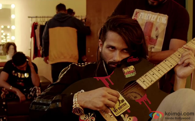 Shahid Kapoor in a still from movie 'Udta Punjab'