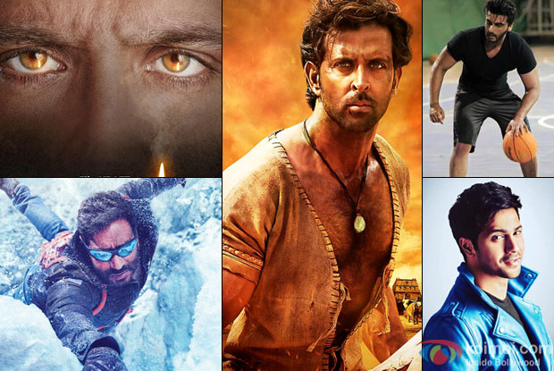Hrithik, Ajay, Varun Or Arjun - Vote For Your Favourite First Look
