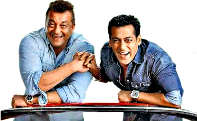 All is well between Sanjay Dutt and Salman Khan