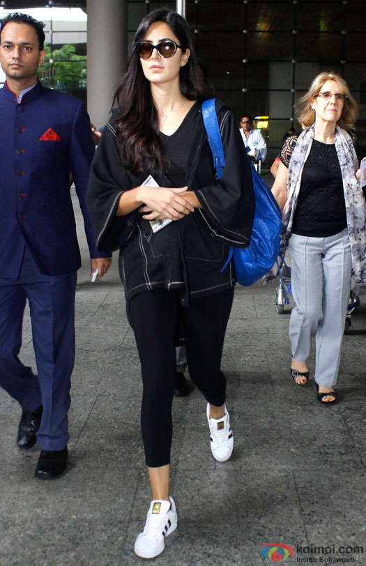Katrina Kaif spotted at Airport