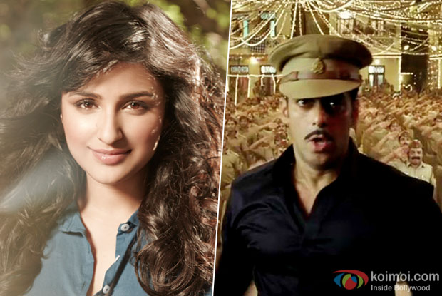 Conformed : Parineeti Not Part Of Dabangg 3