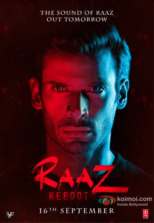 Gaurav Arora's Intense Look In The 3rd Character Poster Raaz Reboot