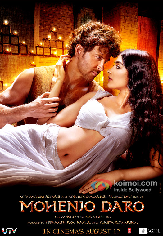 Hrithik Roshan, Pooja Hegde exude intense chemistry in this new poster of Mohenjo Daro!
