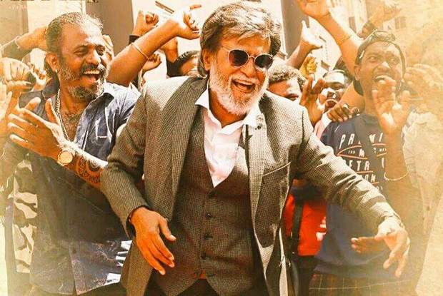Rajnikanth in a still from movie Kabali