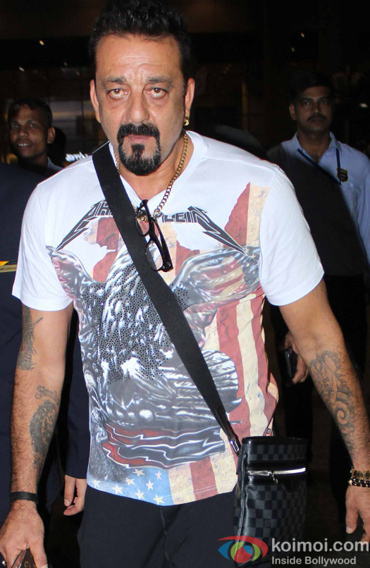Sunjay Dutt Spotted at Airport