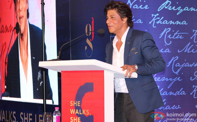 Shah Rukh Khan At The Book Launch Of Gunjan Jain