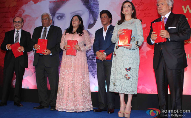 Shah Rukh Khan and Neeta Ambani At The Book Launch Of Gunjan Jain