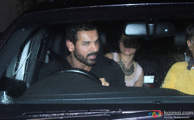 John Abraham at Special Screening Of Dishoom
