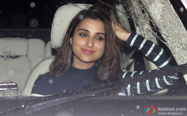 Parineeti Chopra at Special Screening Of Dishoom