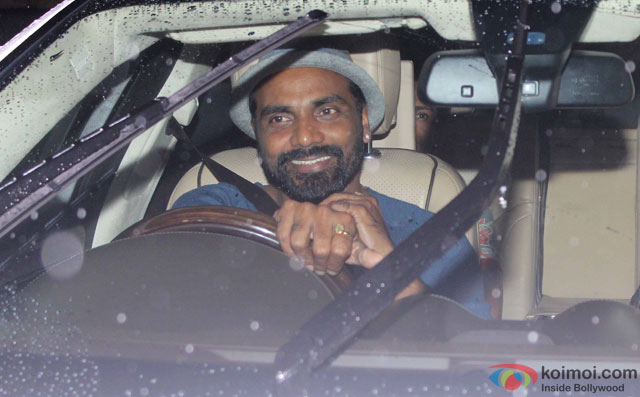 Remo Dsouza at Special Screening Of Dishoom