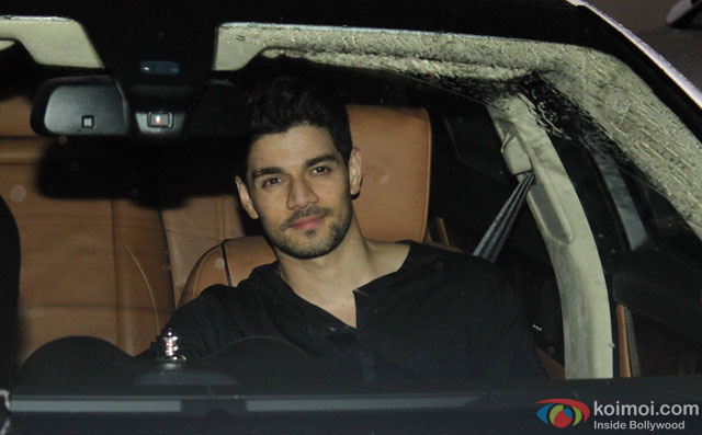 Sooraj Pancholi at Special Screening Of Dishoom