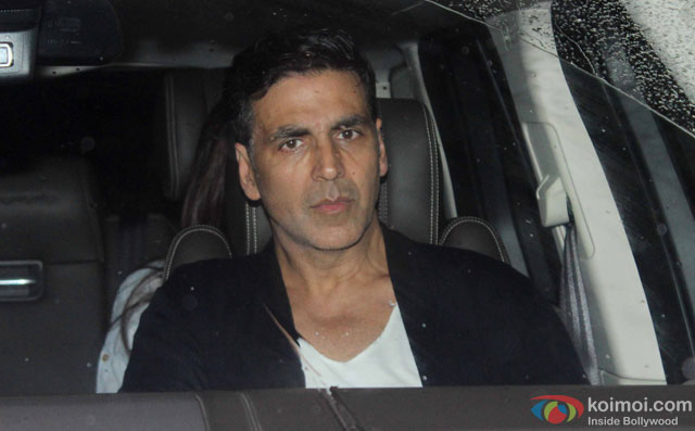 Akshay Kumar at Special Screening Of Dishoom