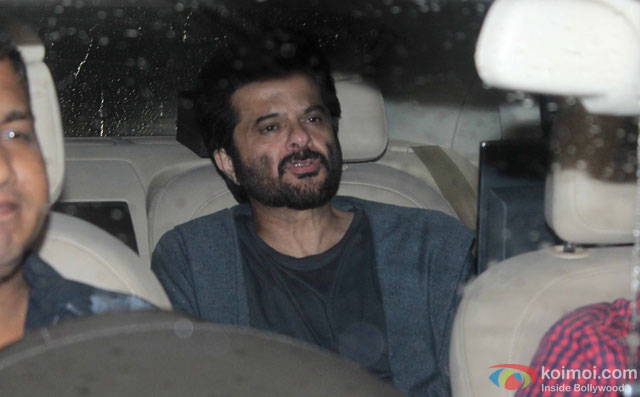 Anil Kapoor at Special Screening Of Dishoom