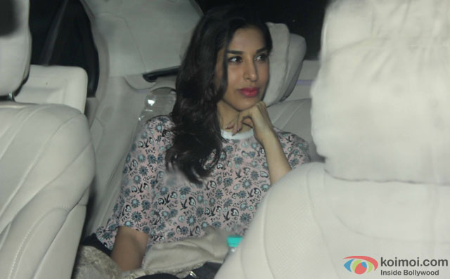 Sophie Choudry at Special Screening Of Dishoom