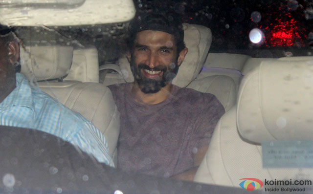 Aditya Roy Kapur at Special Screening Of Dishoom
